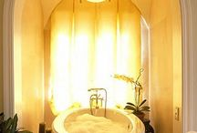 Bathed in Beauty / Designer baths and powder rooms. / by Ava Living
