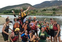 Blizzard's 2015 Summer Meeting - Rafting on the Colorado River / Blizzard's annual summer office meeting culminated in some time on the Colorado River. It was overcast, but perfect weather to be out on the water! www.blizzardinternet.com