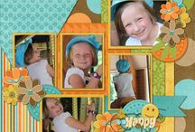 Inspiration - layouts / Scrapbooking