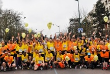Half Marathon in Paris / Since 3 years French people ran for Education. They had collect around 12 000 €. Thanks to you Aide et Action International follow its projects over the world