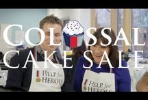 Bake for Heroes 2014 / GET BAKING FOR OUR HEROES THIS SPRING   Whether you take a cake to work and get donations for each slice or hold a cake sale, every lovely treat really does make a difference.   The Bake for Heroes fortnight is 18 APRIL - 4 MAY 2015. If this doesn't work for you, you can hold your event on a date that does.