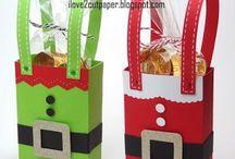 caixas para Natal