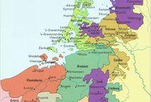 Nederland / Landkaart