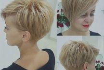 Kurzer Haarschnitt