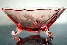 Depression Glass: Pink / by Judy Fagotti