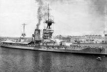 Pre WW2 warships