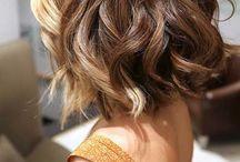 taglio capelli medio