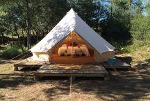 COOL CAMPING / GLAMPING in Spanje! Van beach cabins, tenten en tipi's tot yurts, campervans en tree houses. HOLASPAIN.nl