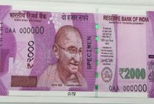 India Issued New currency / This boar is about India fighting against corruption.