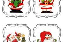 Mikulás, hóember,angyalka,rénszarvas.....