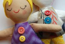 Dolls-sewing!