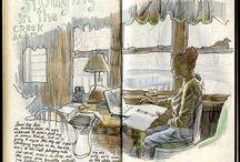 Sketch books / by David Sharp