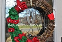 Wreaths / by AquaXpressions