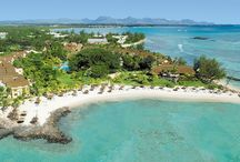 Mauritius Holidays - Beachcomber Resorts / A map of exotic locations for beach holidays in Mauritius.