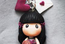 oggettini bamboline
