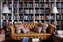 Libraries / by House Beautiful Magazine