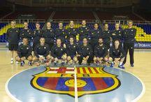 Equips veterans Handbol FC Barcelona