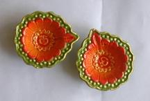 Diwali Diyas / Diwali Diyas... Available @ Dream Land 172/7, 12th Cross, Mahalakshmi Layout, Bangalore-86 Ph-23191078/23192608. For any assistance do mail me jayashri.mohanreddy@gmail.com