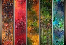 pintura abstracto