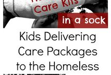 Kids serving idea / Ideas for kids act of kindness
