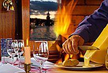 Essen & Trinken bei uns an Bord / Feinstes Catering, ausgesuchte Getränke und beste Bordküche