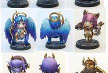 chibi fantasy minis