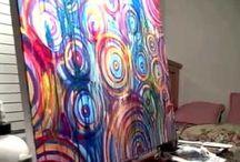 Akrylové Maľby