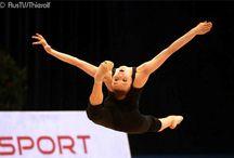 Russische Sportgymnastinnen / Fotos russischer Sportgymnastinnen von Barny Thierolf / russland.TV