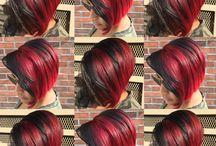 Savanna hair style