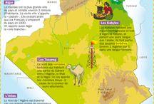 Géographie  Algérie Palestine   ضلمة او مصلومةو عصمتها القدس
