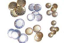 Craft Supplies - Beads / Buttons / Findings / Threads / Needles / by Nivethetha Sudhakar