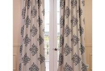 Curtains hallway