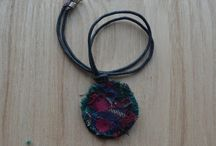 Fabric Jewellery / Jewellery made with thread, fabric and related things :)