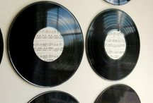 Record wall art
