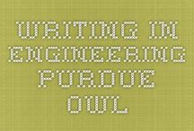 Writing in Engineering / Resources for those writing in the engineering field