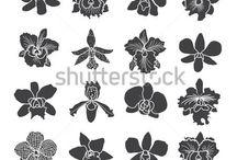 plantillas imprimibles flor de loto