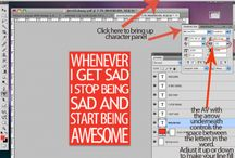 Photoshop goodies / by Bethany Branch-Erby