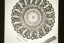 Zentangles / Art of zentangles ((by me))