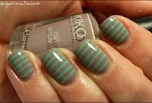 Nails / Pretty or cool nail art, beautiful colors, nail care, etc.