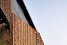 Arquitetura / Ideias arquitetônicas exterior e plantas baixas.