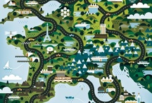 maps / by Jean Panyard-Davis