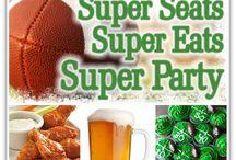 football/sports theme food