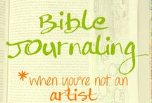 Bible Journaling / Bible Journaling Inspiration