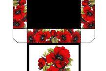 cutii ,ambalaje,ornamente flori