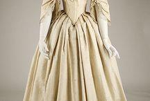 1845 evening dress