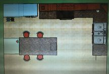 Kitchen Design Final / Sorry the pictures are a little blurry, my print screen function didn't work