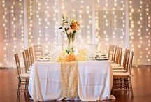 Lighting / What you create with lighting for your wedding can be key to the whole effect you are trying to achieve
