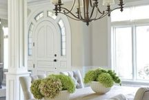 Dining rooms / Dining room set up and decoration ideas