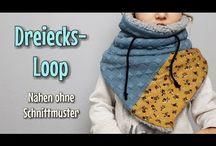 Schal, Loop und Mützen