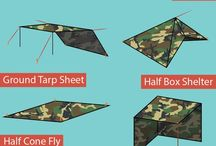 Tarp as Shelters